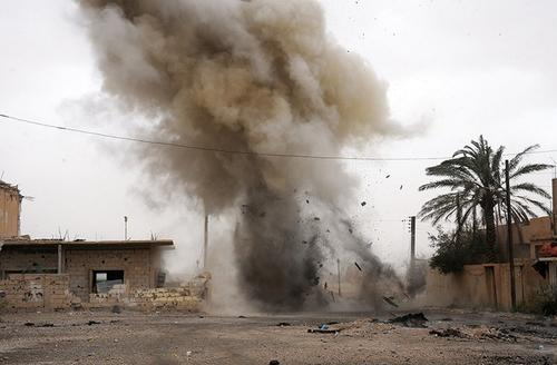 В Сирии на мине, установленной террористами, подорвался мирный житель
