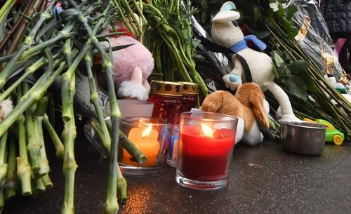 В Волгограде простились с погибшими в ДТП юными баскетболистками