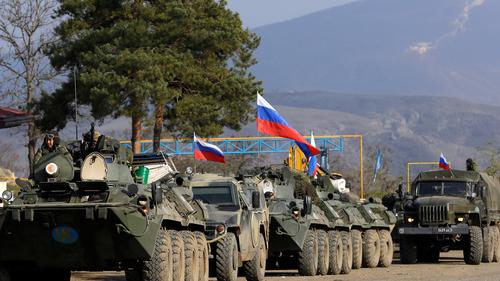 Минобороны РФ развернуло в Сюникской области Армении два опорных пункта