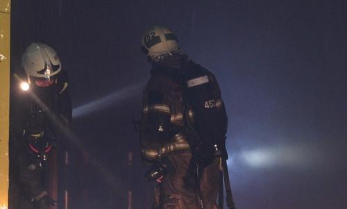 В гостинице на юго-востоке Москвы вспыхнул пожар, двое погибших
