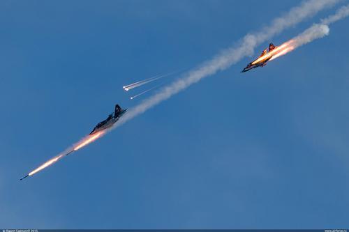 Российская боевая авиация обрушила лаву огня на формирования «чёрного халифата» в Сирии