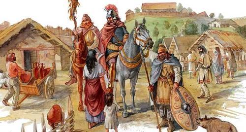 Галльская Европа праславян