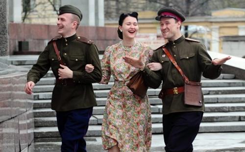 Весна 45-го года. Мода Победы - какая она была