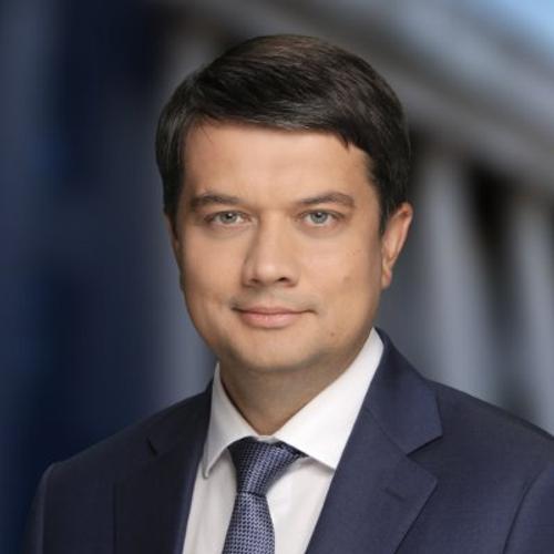 Спикер Рады Разумков призвал не отдавать другим государствам вклад Украины в победу в войне