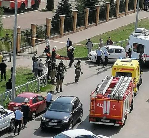 В мэрии Казани рассказали, кто охранял гимназию, в которой произошла стрельба