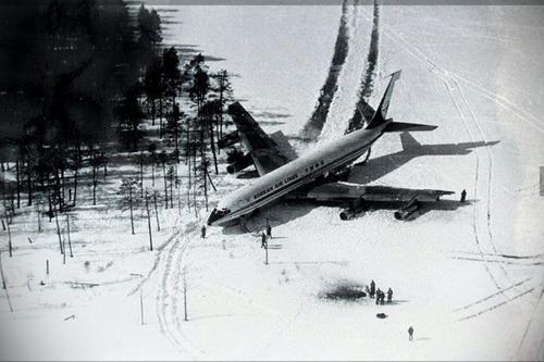 В 1978 году ПВО сбила «Боинг-707», нарушивший воздушное пространство СССР