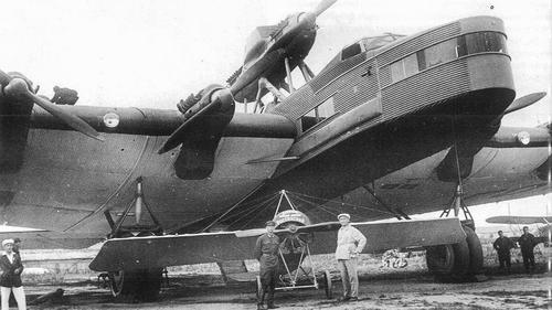 Самый большой в мире советский летающий монстр разбился на втором полёте. Максим Горький чуть не сошёл с ума