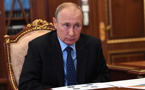 Путин заявил о близости к границам России палестино-израильского конфликта