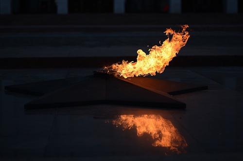 Полиция задержала жителя Химок, который бросил в Вечный огонь телевизор