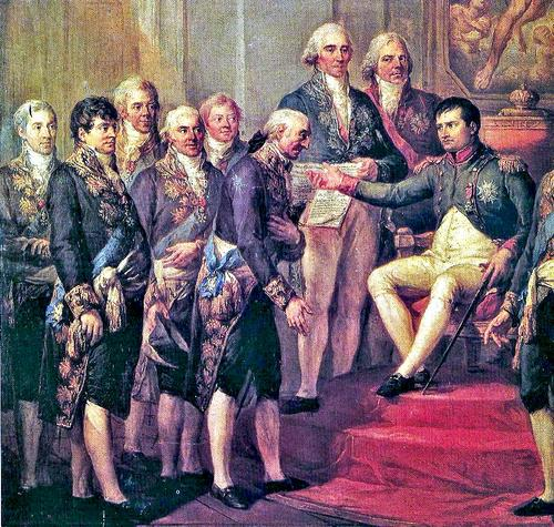 Великое герцогство Варшавское, протекторат Франции в эпоху Наполеона