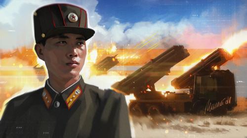 КНДР развернула у своих южных границ зенитную артиллерию