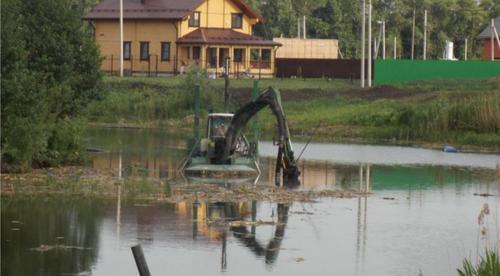Сотню водоемов очистят за три года в Подмосковье
