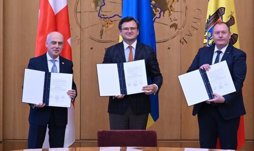 Украина, Молдавия и Грузия объединяются в  Несоветский союз для противодействия России