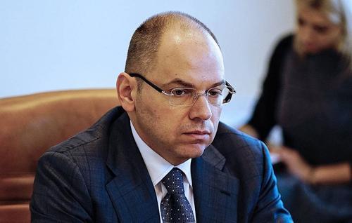 Главу Минздрава Украины Максима Степанова хотят уволить