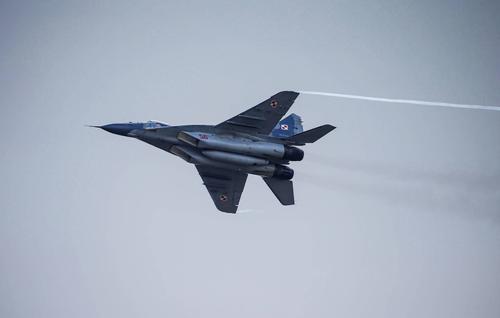 Польский МиГ-29 обстрелял летевший с ним в паре истребитель