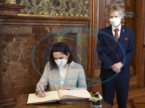 Сенат Чехии принял Светлану Тихановскую как законного президента Беларуси