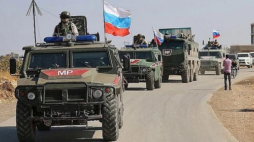 В Сирии подорвался автомобиль с российскими военными