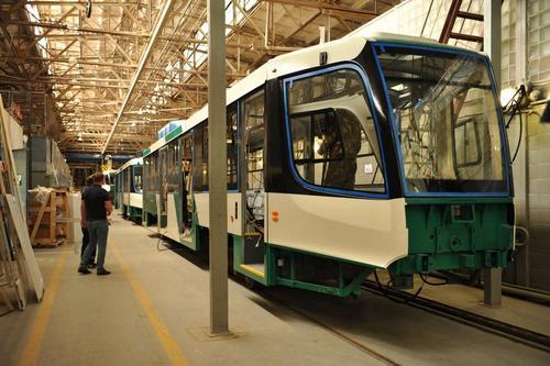 К началу осени Челябинск получит 10 новых трамваев
