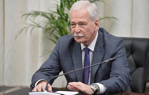 Полпред РФ на минских переговорах Грызлов считает, что Донбасс не нужен Украине