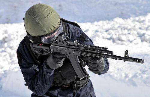 Американский спецназовец пытался вывести из строя Автомат Калашникова
