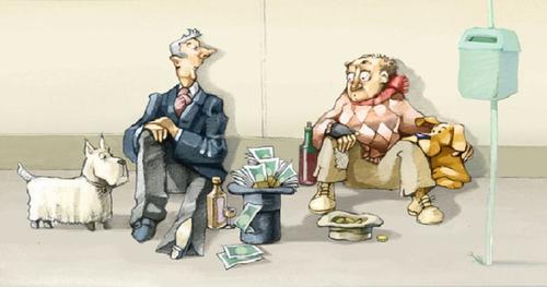 Уровень расслоения общества по доходам динамично растет