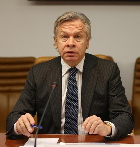 Пушков отреагировал на слова главы «Нафтогаза» о «полномасштабной войне» из-за завершения «СП-2»