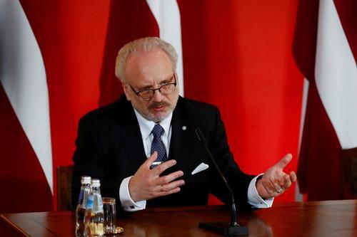 Президент Латвии Эгилс Левитс: Массовые депортации не сломили латвийский народ