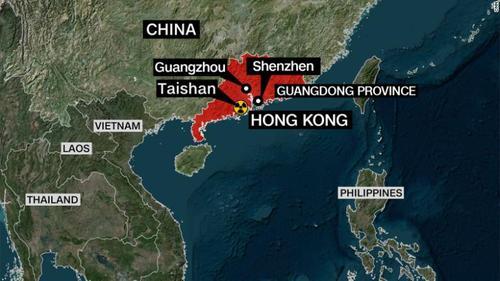 CNN считает, что проблема на атомной станции, на юге КНР может стать причиной катастрофы