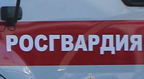 Вооруженный мужчина напал на сотрудника Росгвардии в Томске