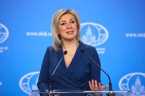 Мария Захарова пообещала ответ России на подготовку новых санкции США из-за «Северного потока-2»