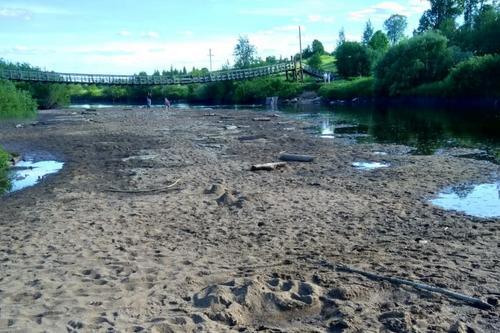 В мире ежегодно пересыхают километры рек и ручьев