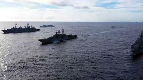 Два ударных корабельных отряда ТоФ РФ отработали в Тихом океане задачу по уничтожению авианосных групп ВМС США