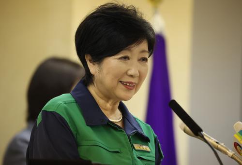Губернатора Токио Юрико Коикэ госпитализировали из-за переутомления