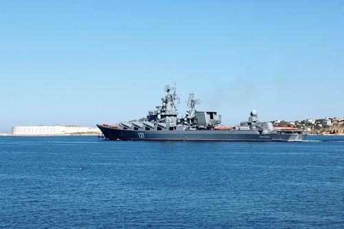 Avia.pro: крейсер «Москва» пошел наперерез британскому авианосцу, выдвинувшемуся в сторону баз России в Сирии
