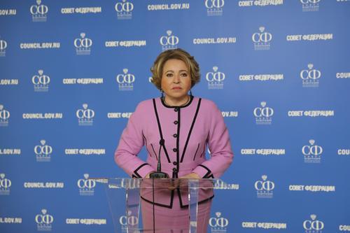 Валентина Матвиенко: «Футбольную политику надо в корне менять»