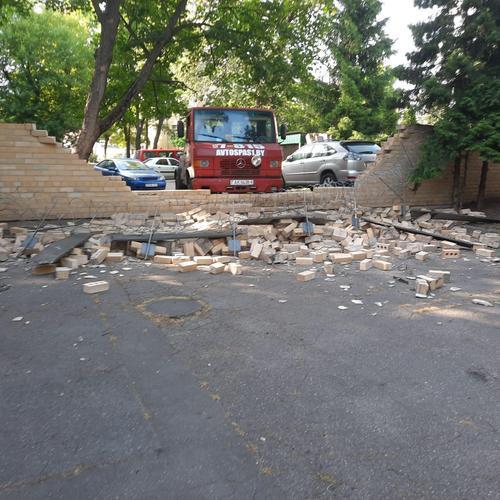 Посольство Латвии в Минске пострадало в ходе возможного ДТП