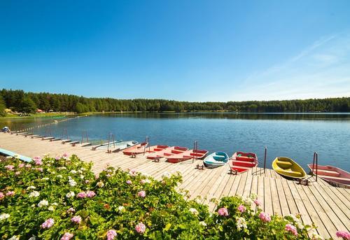 Белое озеро в Восточном округе Москвы превратилось в популярный курорт