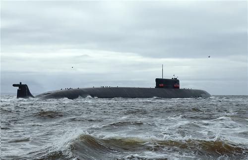 Носитель беспилотной субмарины «Посейдон» проходит ходовые испытания в Белом море