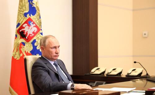 Путин заявил, что скорость восстановления экономики зависит от темпов вакцинации против COVID-19
