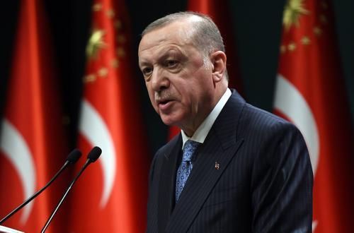 Эрдоган заявил, что Турция пока не столкнулась с новыми штаммами COVID-19
