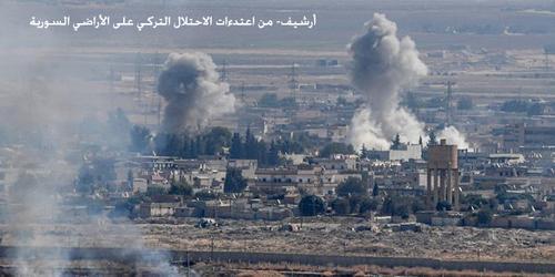В Сирии турецкие военные подвергли артиллерийскому обстрелу участок трассы М4