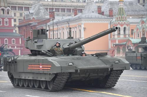 National Interest: российский танк «Армата» «обещает стать грозным врагом на поле боя»
