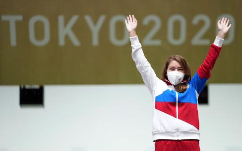 Виталина Бацарашкина выиграла второе «золото» в стрельбе из пистолета на Олимпиаде в Токио