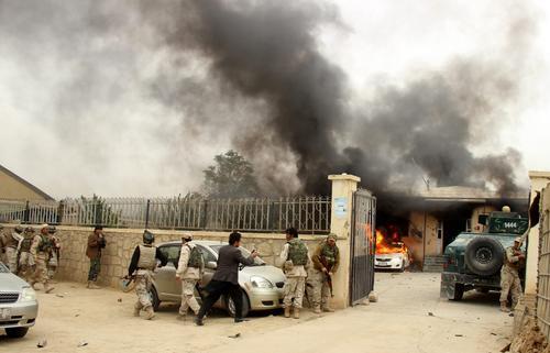 В Афганистане джихадисты штурмуют административный центр провинции Гильменд