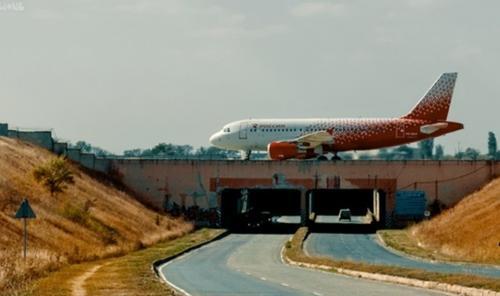 Тоннель под взлетно-посадочной полосой симферопольского аэропорта стал местом ДТП