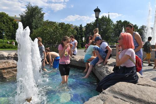 В Москве объявлен «оранжевый» уровень опасности из-за жары