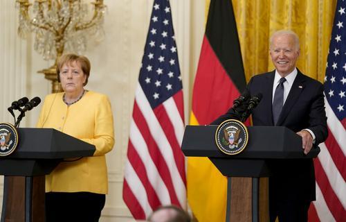 Сделку Байдена и Меркель по «Северному потоку - 2» в Financial Times сочли медвежьей услугой Украине