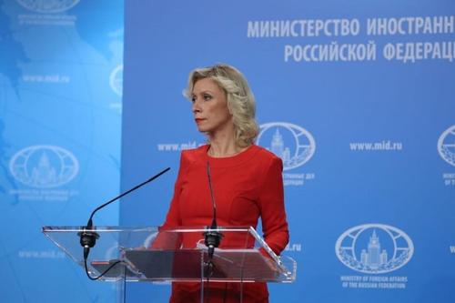 Мария Захарова заявила, что Россия никогда не бросит жителей Донецка и Луганска