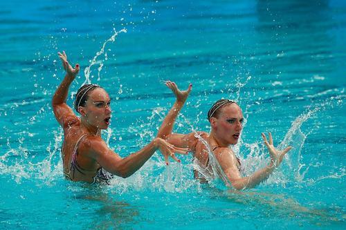 Светлана Ромашина и Светлана Колесниченко завоевали золото на Олимпиаде-2020 в Токио