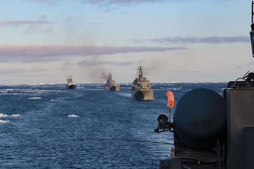 Северный флот приступил к развёртыванию морских и сухопутных сил и средств в рамках КШТ